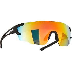 UVEX Sportstyle 804 Glasses black mat/mirror rainbow